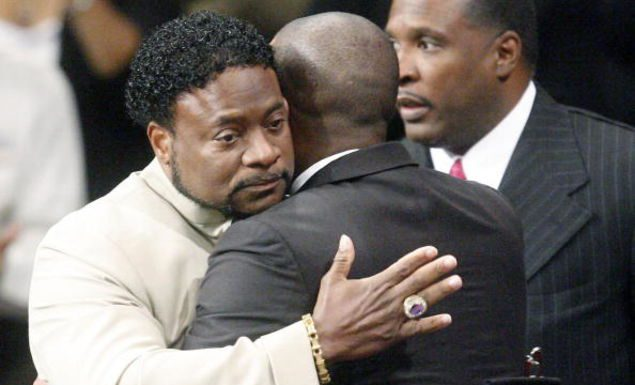 Bishop Eddie Long, Sept. 26, 2010, at New Birth. (John Amis-Pool/Getty Images)