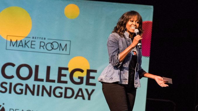 Michelle Obama Embraces 'Forever First Lady' Nickname, Sends