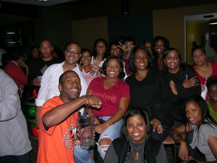 Booker T Class of 87 — with Charles Marshall, Clark Morris, Bridget Cartwright-Jones, Tracee Rayburn, Zonia Ray, Adairia Tarver-Vinson, Toi D White, Delaina Townsend-Holmes, Niccolle Brackeen Copeland, Leslie Graham-Khalid, Eleanor F Meeks, Kimberly Jones-Bettis and Kari Thompson.