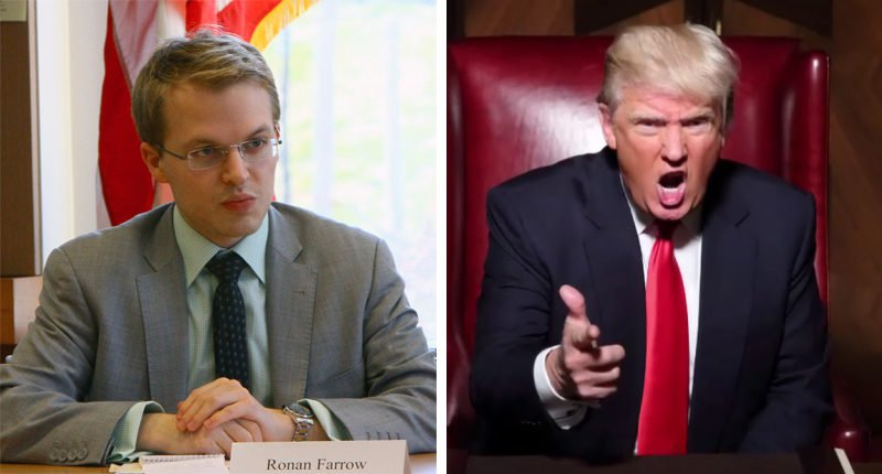 RawStory Ronan Farrow has the long-rumored Donald Trump tapes from The Apprentice: report